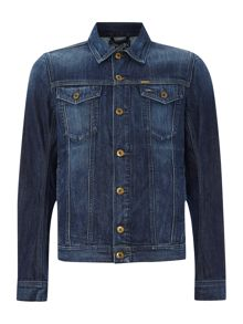 2 pocket denim jacket