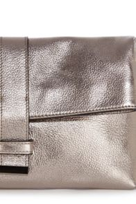 Leather tanya handbag