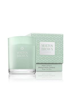 Mulberry & Thyme Three Wick Candle