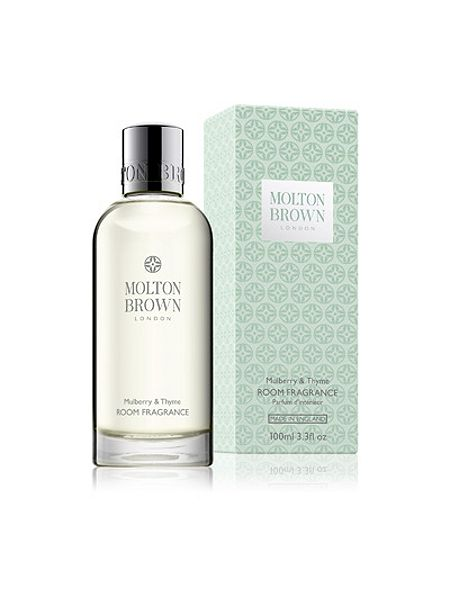 Molton brown mulberry thyme room fragrance house of fraser for Best molton brown scent