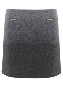 Charcoal & Grey Ombre Skirt