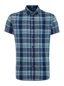 Eddie check short sleeve shirt