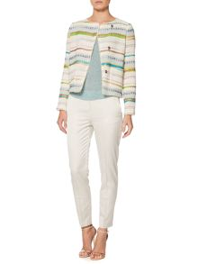 Gerald boucle striped jacket