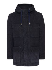 Hand crafted parka jacket