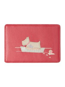Forty winks pink travel card holder