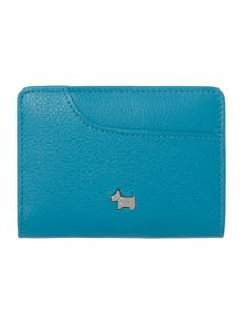 Pocket bag blue credit card holder