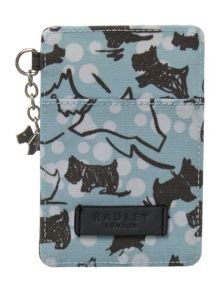 Cherry blossom dog travel card holder