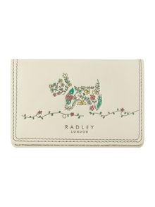 Rosemary gardens ivory credit card holder