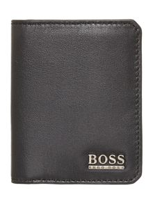 Leather double credit card holder