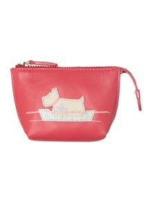 Forty winks pink small zip coin purse