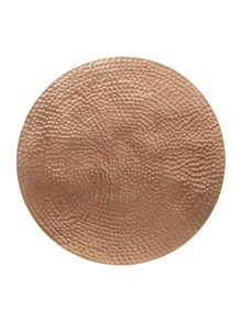 Casa Couture Copper metal placemats set of 2