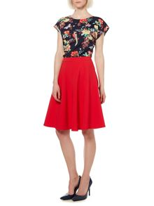 Butterfly floral blouse