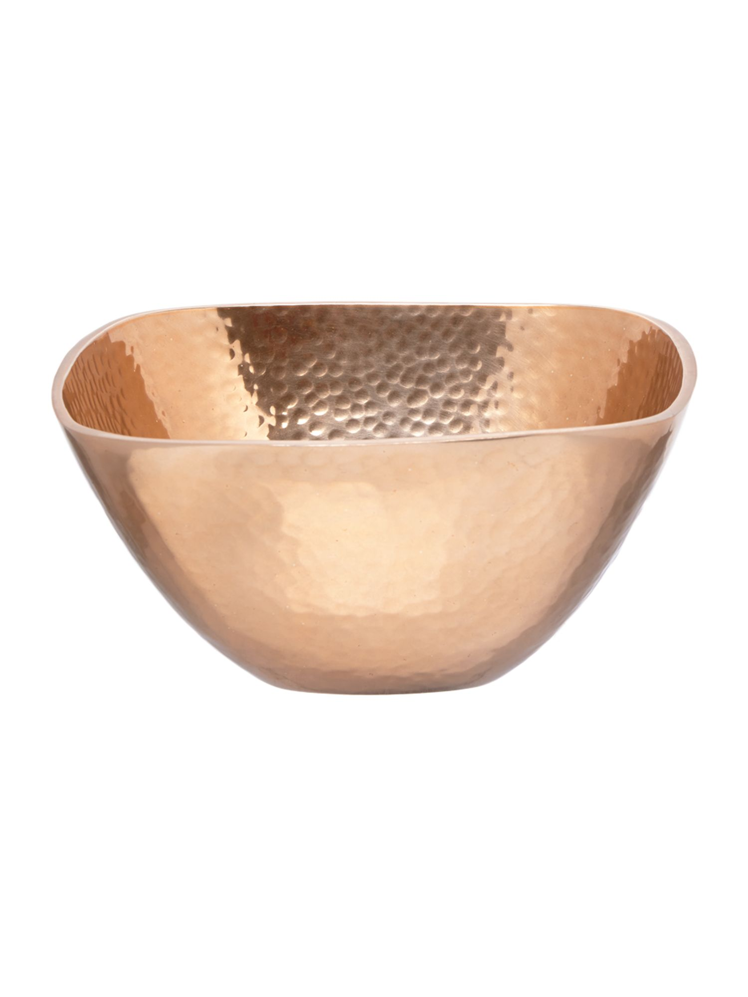 Casa Couture Copper metal medium bowl