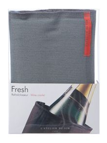 L'Atelier du Vin Fresh Grey Linen Wine Cooler