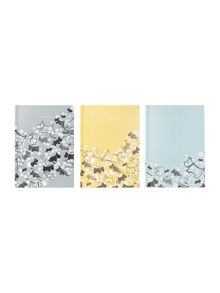 Cherry blossom dog multi A6 notebook trio