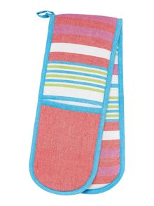 Colours double oven glove