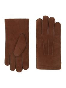 Dents Mens self lined leather glove