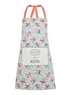 Vintage Baking Born to Bake apron