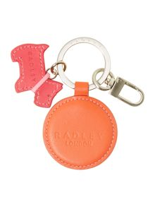Parkway orange key ring