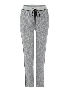 Relaxed fit marl jogger trousers
