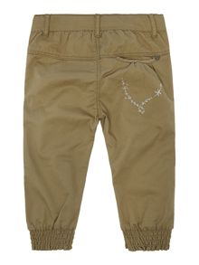 Girl`s twill cuff trousers