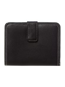 Rosemary gardens black medium zip around purse