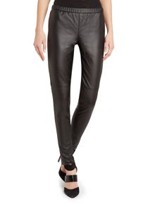 Michael Kors Skinny Faux Leather Trousers