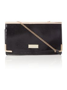 Black crossbody clutch