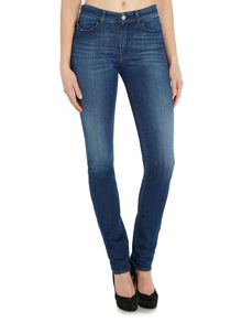 J18 High Waist Slim Sparkle Back pocket Jean