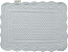 Matallase placemat duck egg blue