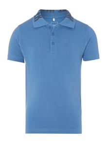 Boy`s short sleeved tipped paris polo