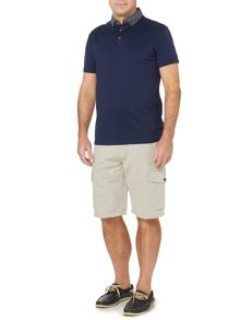 Standard Cotton/Linen Cargo Pocket Short