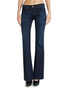 Colette comfort flare jean in dark wash