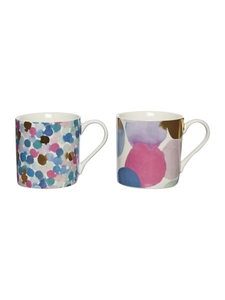 Pied a Terre Diffusion Set Of 2 Mugs