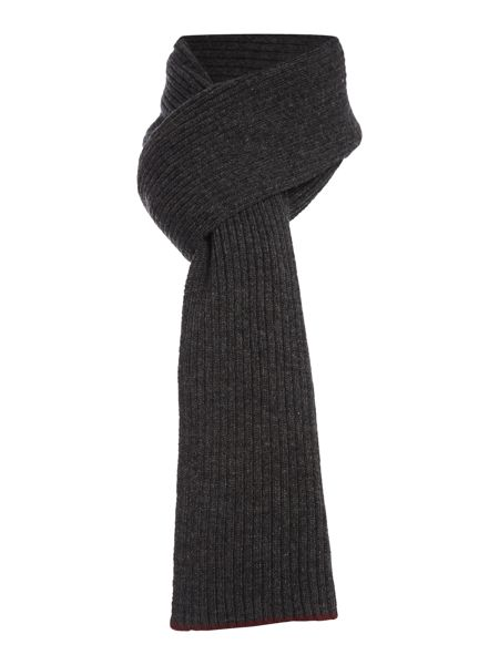 Peter Werth Seeker tipped wool scarf