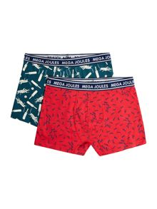 Boys ants print 2 pack underwear