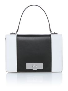 Callie monochrome medium shoulder bag