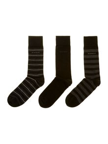3 pack stripe sock