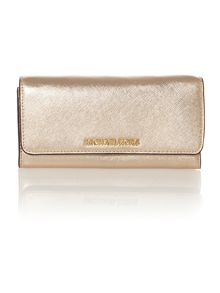 Jetset Travel gold chain flap over purse