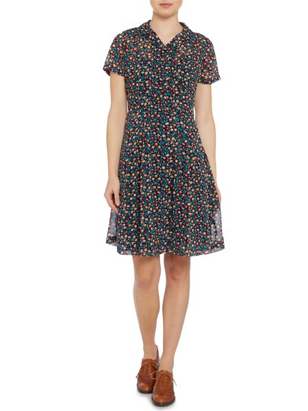 Dickins & Jones Claudia button front dress