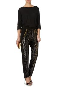 Biba Gold limited edition two tone sequin trousers