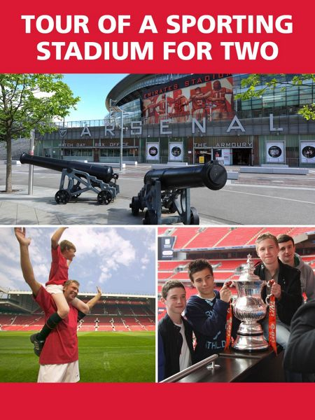 Red Letter Days Tour of a Famous Sporting Stadium for Two