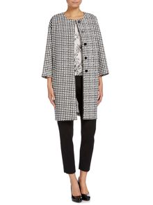 Umico grid checked coat