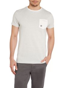 Textured Crew Neck Regular Fit T-Shirt