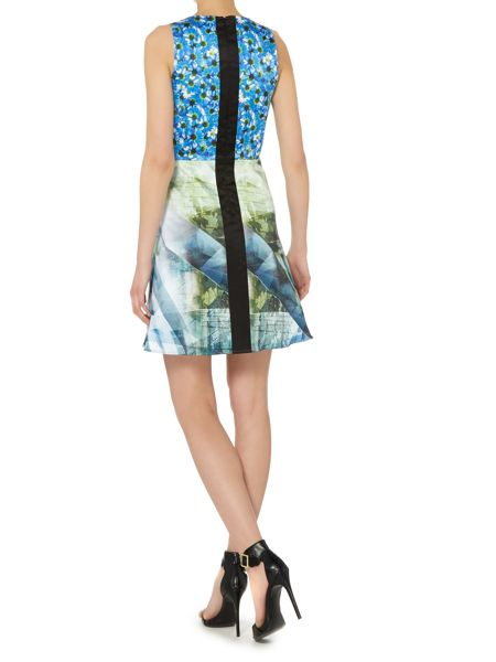 Pennyblack Fit and flare printed dress