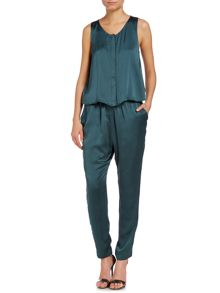 Racer back jumpsuit