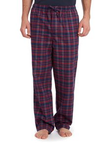 Flannel check pant