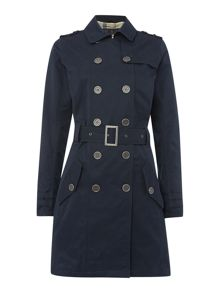 Tay double breasted belted trench coat