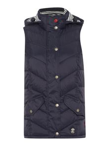 Barbour Forland chevron quilted gilet