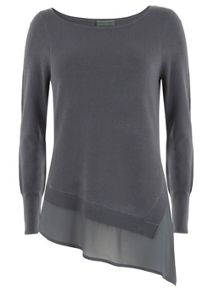 Steel Asymmetric Knit